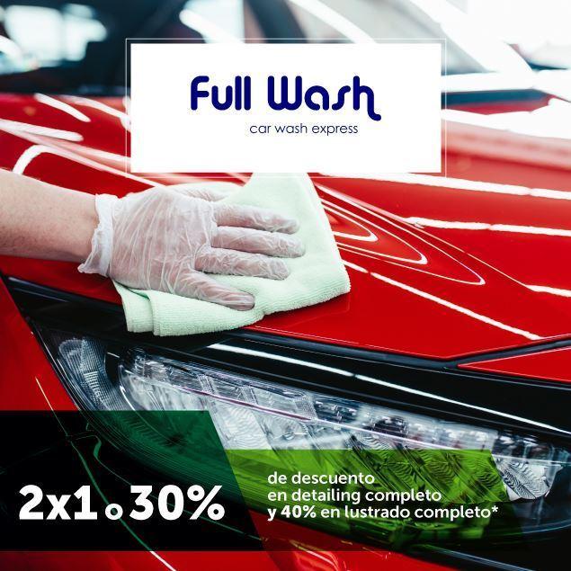 Foto de Full Wash  2x1 o 30% de descuento en detailing completo Y 40% de descuento en lustrado completo