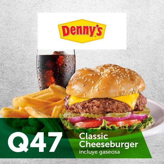 Foto de Dennys Classic Cheeseburger a Q47