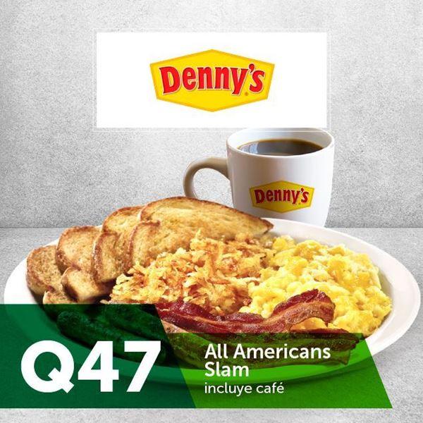 Foto de Dennys All American Slam Q47 Incluyen café