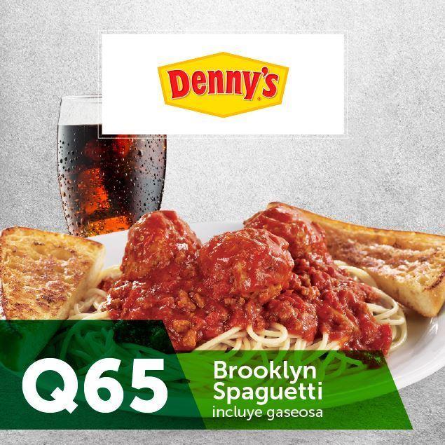 Foto de Dennys Brooklyn Spaguetti Q65 Incluyen gaseosa