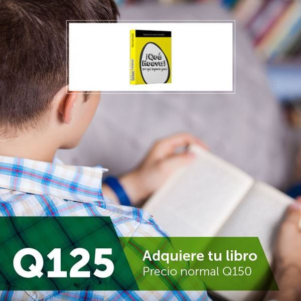 Foto de Roberto Cervantes adquiere tu libro por Q125