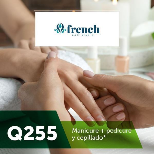 Foto de Paquete de Pedicure y Manicure en French Nail Studio