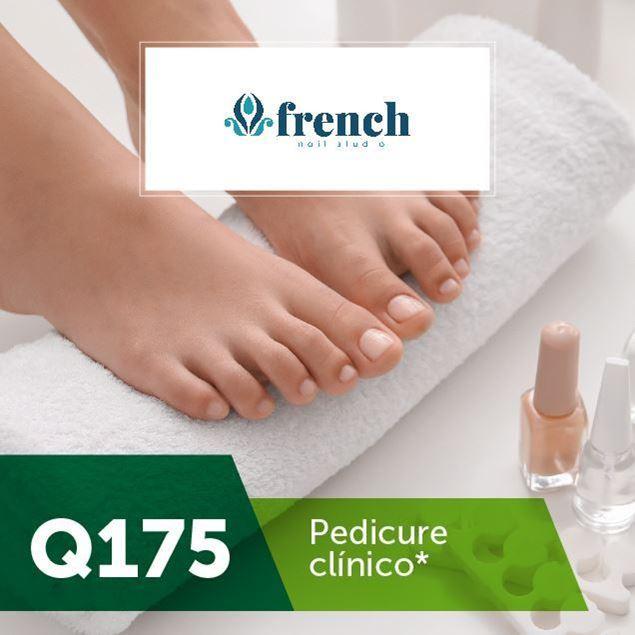 Foto de Pedicure clínico en French Nail Studio