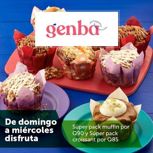 Foto de Súper pack de muffin o croissant en GENBA