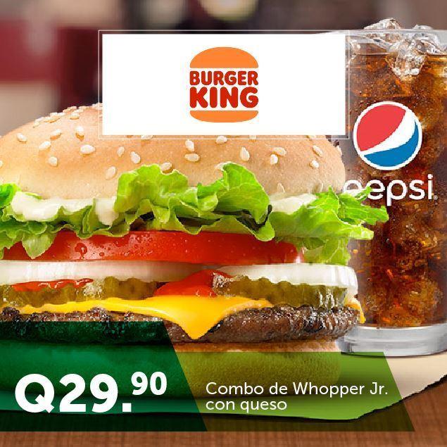 Foto de Combo de Whopper Jr. en Burger King
