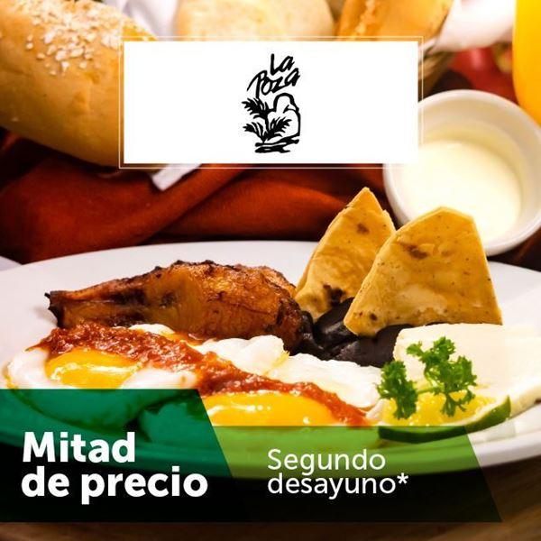 Foto de Segundo desayuno a mitad de precio en La Poza