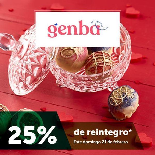 Foto de Reintegro 25% en genba