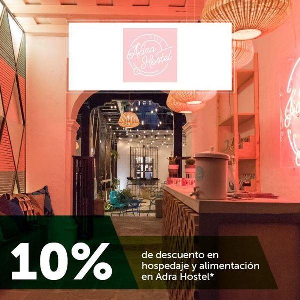 Foto de 10%  de descuento en hospedaje y alimentación en Adra Hostel