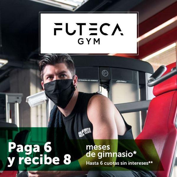 Foto de Paga 6 y recibe 8 meses de gimnasio en Futeca Gym.