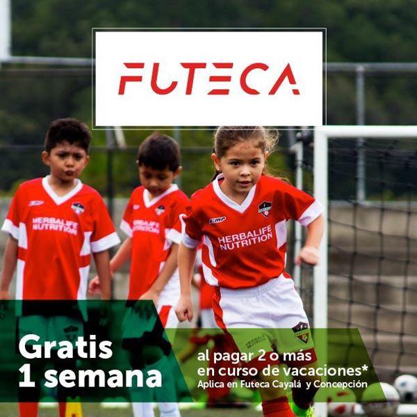 Foto de Gratis 1 semana al pagar 2 o más en cursos de vacaciones, aplica en Futeca Cayala y Concepción.