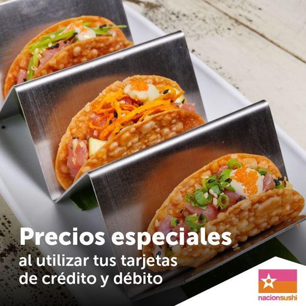 Foto de Precios especiales en entradas y  platos fuertes en Nacion Sushi.