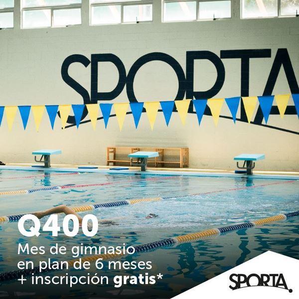 Foto de Q400. Mes de gimnasio en plan de 6 meses + inscripción gratis en Sporta.