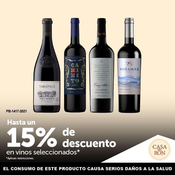 Foto de Hasta un 15% de descuento en vinos seleccionados en CASA DEL RON.