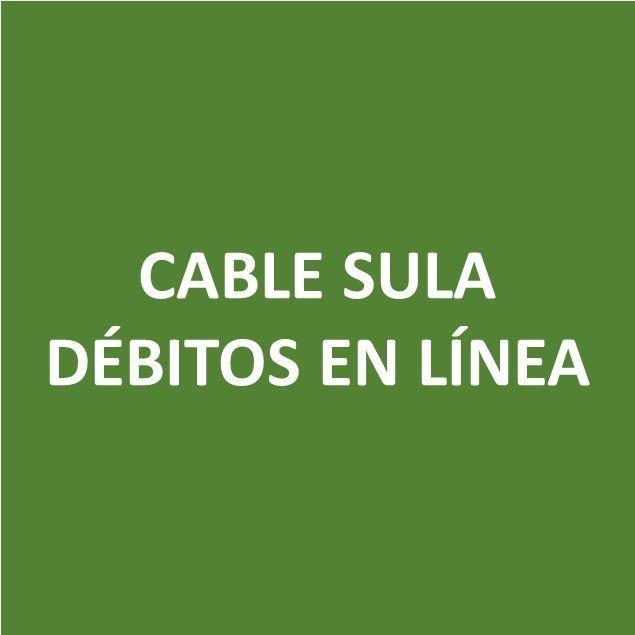 Foto de CABLE SULA DÉBITOS EN LÍNEA-Canje de Puntos