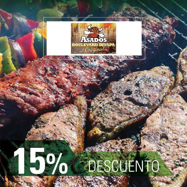 Foto de 15% de descuento-Asados El Gordo (El Original)-Tegucigalpa