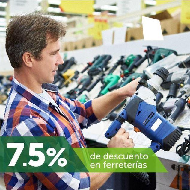 Foto de 7.5% de descuento en ferreterías
