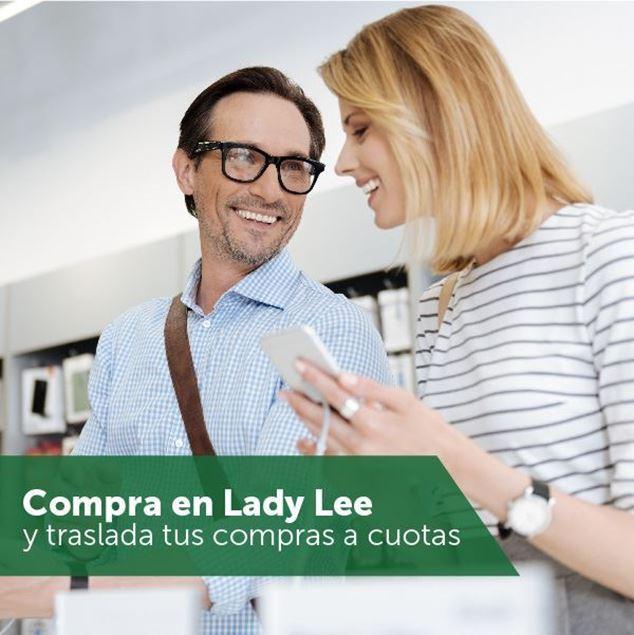 Foto de Traslada tus compras de Lady Lee a cuotas