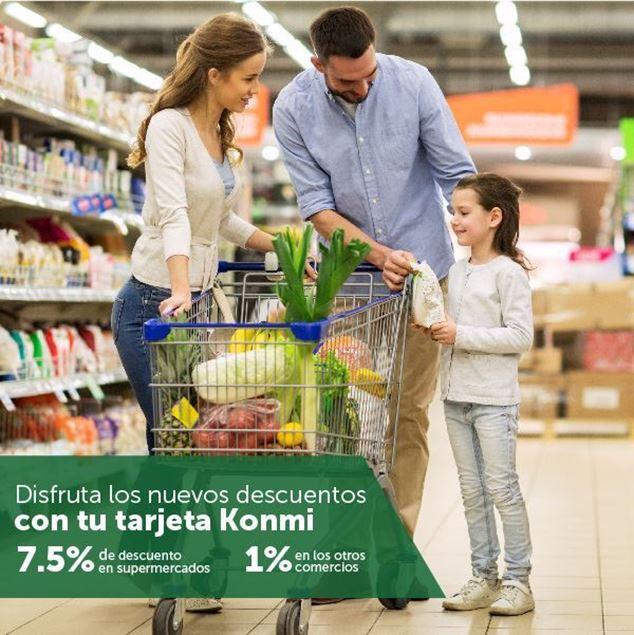 Foto de 7.5% de descuento en Supermercados