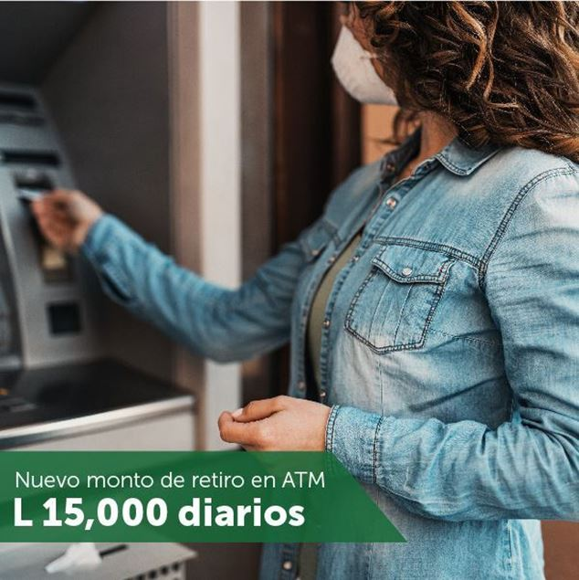 Foto de Nuevo monto para retiro en ATM's