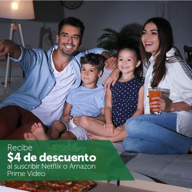 Foto de $4 de descuento en Netflix y Amazon Prime Video
