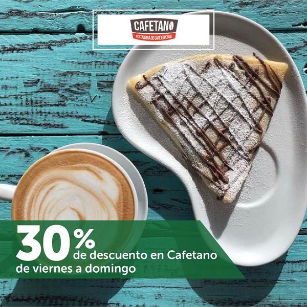 Foto de 30% de descuento en Cafetano