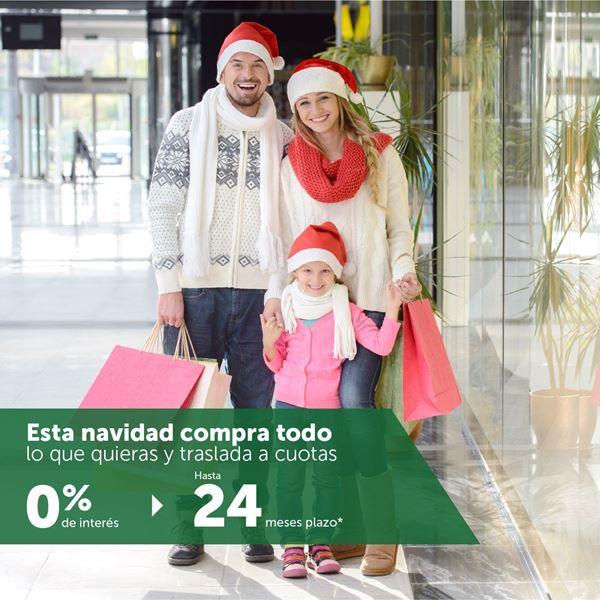 Foto de Traslada tus compras navideñas hasta 24 meses 0% interés