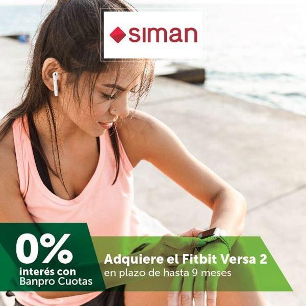 Foto de Hasta 9 meses sin intereses en relojes Fitbit Versa 2 de SIMAN
