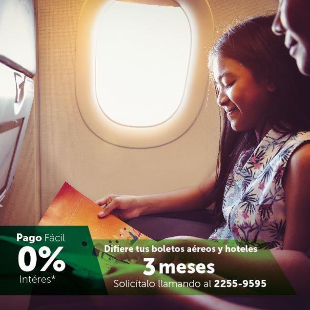 Foto de Difiere tus pagos de boletos aéreos y hoteles con Pago Fácil