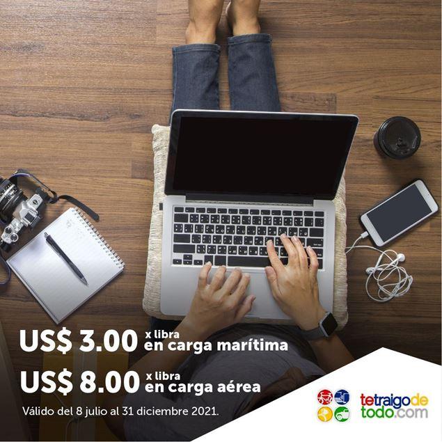Foto de Precio especial por libra en carga aérea y marítima en TETRAIGODETODO.COM