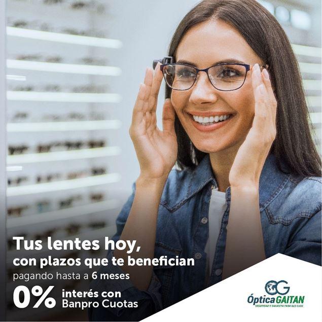 Foto de Tus lentes hoy pagando hasta a 6 meses de plazo en ÓPTICA GAITÁN