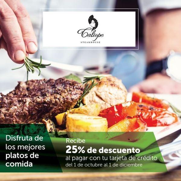 Foto de Promoción  Caliope Steak House